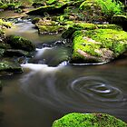 Swirling Water by Stephen Ruane