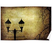 Street Lanterns Poster