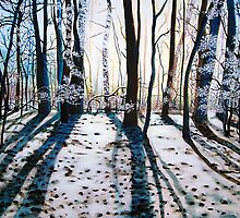 'Winter Woods' by Jerry Kirk