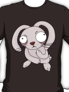 scared rabbit T-Shirt