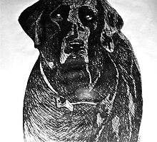 Black Lab by Kipu Arts