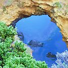 Great Ocean Road Blue Grotto # 1 by Virginia McGowan