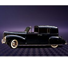 1941 Lincoln Continental City Limousine once owned by Henry Ford Photographic Print