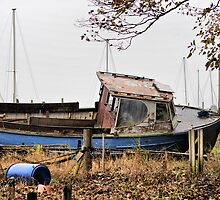 Old Boat. by JacquiK