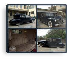 1941 Lincoln Continental City Limousine owned by Henry Ford Metal Print