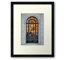 Evening Reflection Framed Print