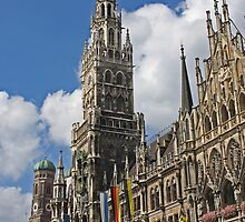 Neues Rathaus #2 - Munich, Germany by David J Dionne