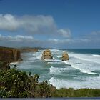 Great Ocean Road # 5 by Virginia McGowan