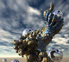 Precious Metal by Sandra Bauser Digital Art