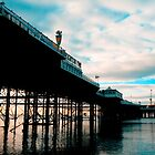 Brighton Pier by NadineBurzler