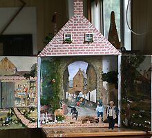Joining the Dutch folk, in Anton Pieck's street.  by MrJoop