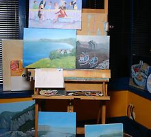 On the easel this week by Carole Russell