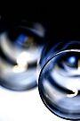 wine glasses lying by Bob Daalder