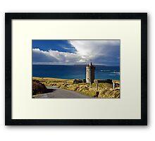Doolin Irish Castle, County Clare, Ireland Framed Print