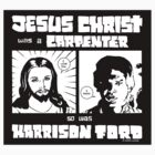 JESUS FORD STICKER by joltinjohnny
