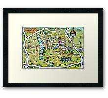 Downtown San Antonio Texas Framed Print