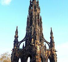 Scott Monument by Braedene