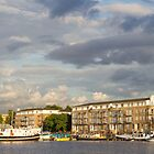 Greenland Dock at Canada Water by ShanneOng