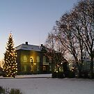 Christmas at the Borg Hotel in Reykjavik by chipster