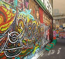 Hosier Lane by Adele Nash