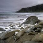 Kaikoura Coastline by Michael Treloar