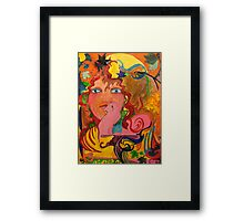 The Lady of Due Seasons! Framed Print