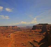 View Of Canyon by Kathleen Struckle