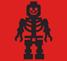 Lego Skeleton - Black by grrARGH
