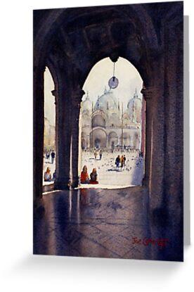 St Marks Plaza, Venice by Joe Cartwright
