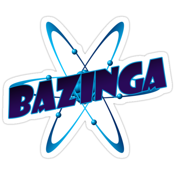 Bazinga - Big Bang Theory by bleedart
