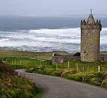 Irish Castle In Doolin, County Clare, Ireland by upthebanner
