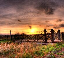 Sunset Bridge by brianfuller75