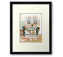 little owl Framed Print