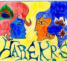 Hare Krishna Fresco by FlashyFay