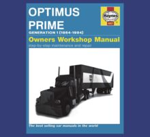 Owner Manual G1 Optimus Prime by editmonster