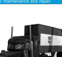 Owner Manual G1 Optimus Prime Sticker