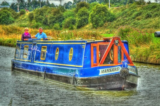 Narrowboat mansard by SimplyScene