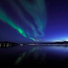 Aurora Borealis / North Light in the arctic by Frank Olsen