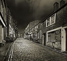 Haworth Main Street by Steve  Liptrot