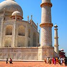 Day out at the Taj by nickilalala