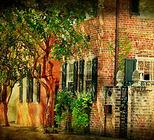 A Little Side Street in Charleston, SC by imagetj