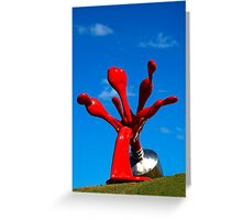 Paint tube Greeting Card