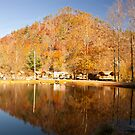 Fall reflection! by vasu