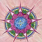 Mandala : Expanding Heart by danita clark
