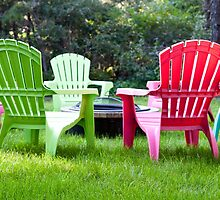 Adirondack Chairs by phil decocco