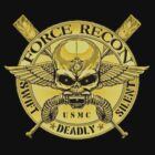 Marine Force Recon (Gold) by Walter Colvin