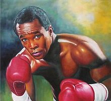 Sugar Ray Leonard by Drjohn007