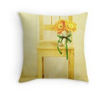 The Seat Named Sunny Throw Pillow
