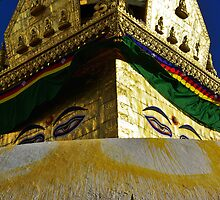Stupa, Swayambhunath by AlliD