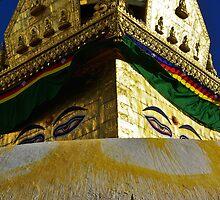Stupa, Swayambhunath by AlliD